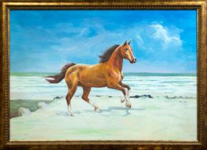 Конь у моря