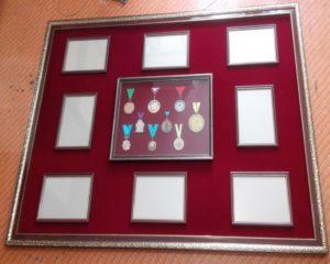 Оформление медалей