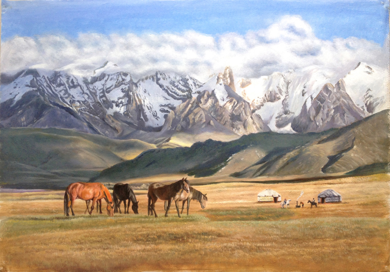 Алатау лошади